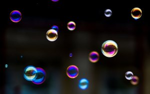 bulles arc en ciel