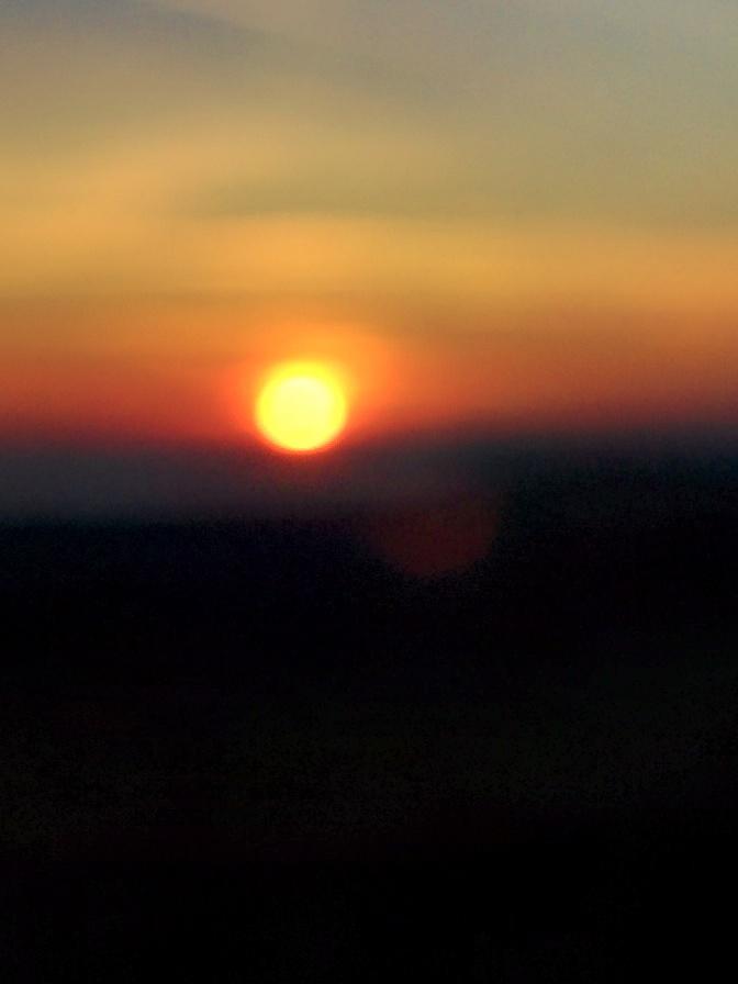Mon été indien suite…. hier soir un coucher de soleil à savourer…Early autumn in Brittany on the seashore
