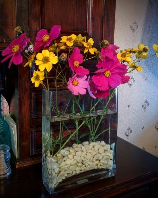 bouquet tout simple et si joli j'adore