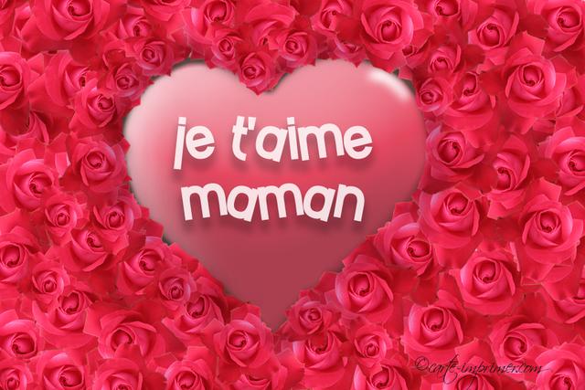 Journée de pause ce jour, en hommage àmaman