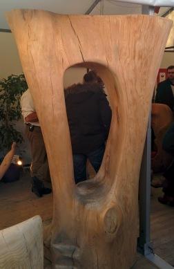 salon fauteuil à cheval dans arbre