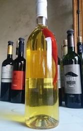 chais vin avec un piment