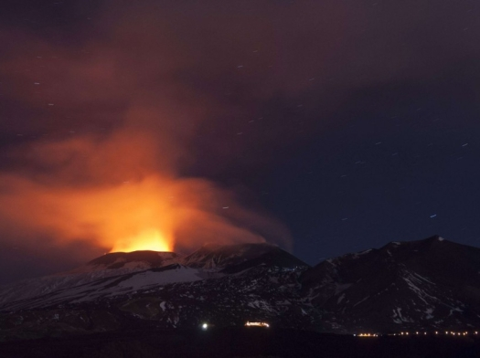 Italy Etna Eruption