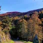esparros accès au creux de la vallée