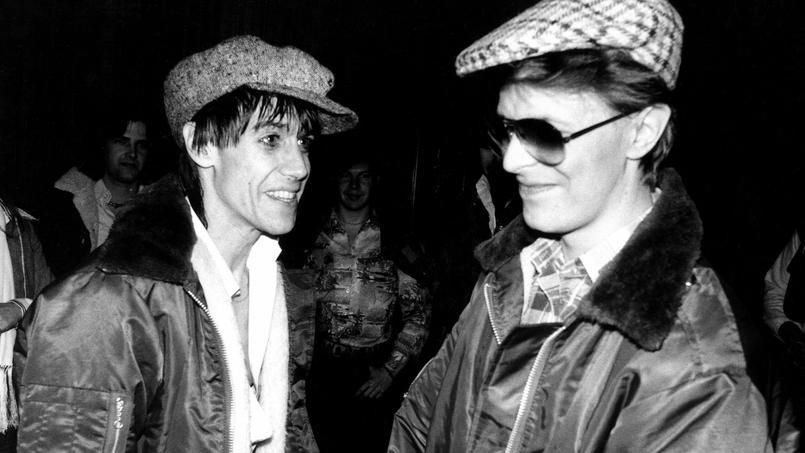 Iggy Pop rend un ultime hommage à son ami DavidBowie