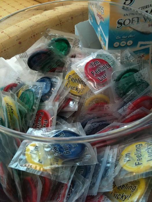 Insolite : Google propose des préservatifs personnalisés gratuits à sesemployés