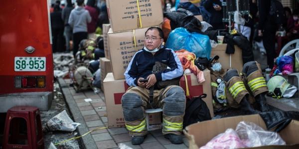 Séisme de Taiwan le bilan s'alourdit