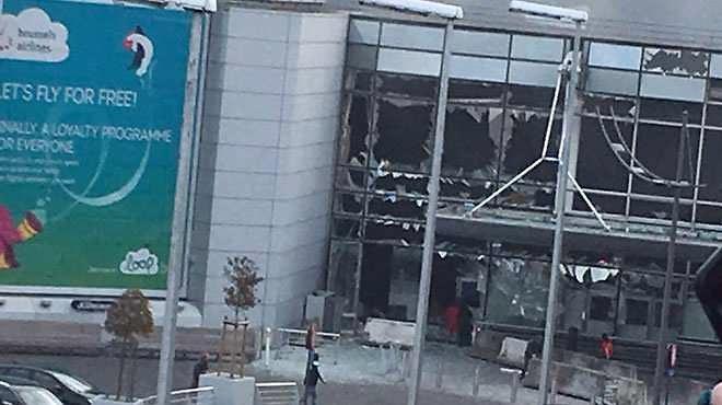 Explosions à Bruxelles : attentats suicides à l'aéroport