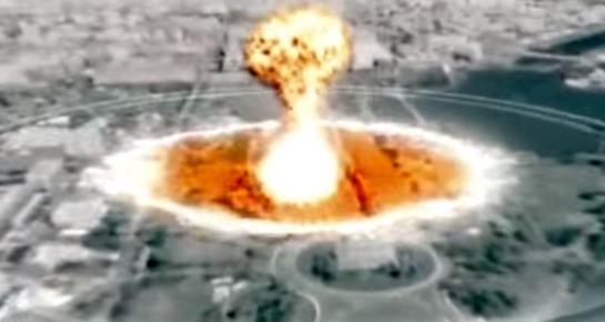 Morbide : La Corée du Nord diffuse une vidéo simulant une attaque nucléaire surWashington
