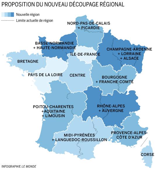 Et le Nord devint «Hauts-de-France – Nord Pas de Calais-Picardie»