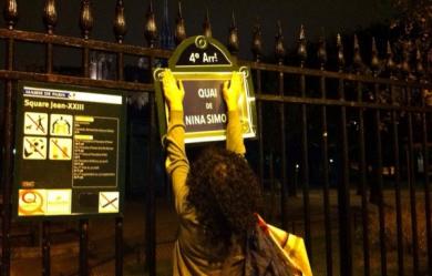 Action choc : Des noms de femme pour toutes les rues de l'Ile de laCité