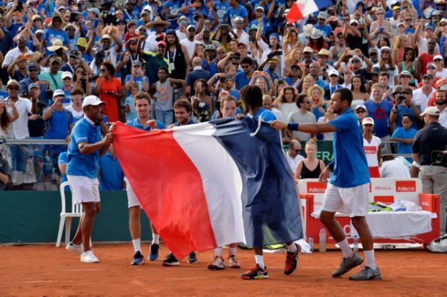 Coupe Davis : qualification de la France, Noah estheureux