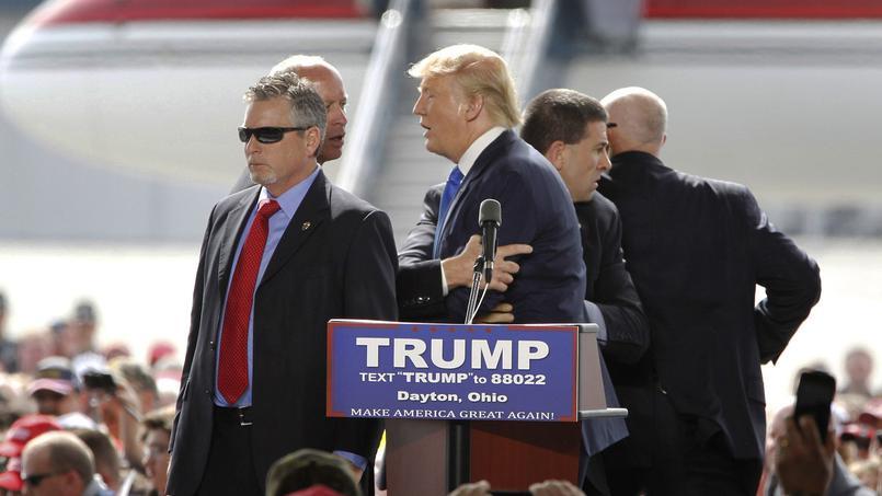Les meetings de Donald Trump sont le théâtre croissant d'incidents