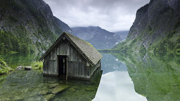 cabane eau