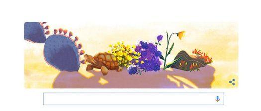 doodle google journée terre