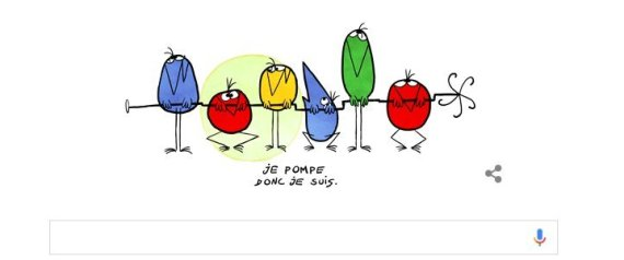 Les shadoks ont 48 ans : Happy birthday – Google leur consacre undoodle