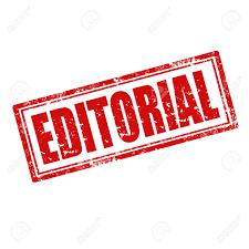 Editorial de fin desemaine.