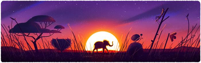 Journée de la terre, google consacre undoodle