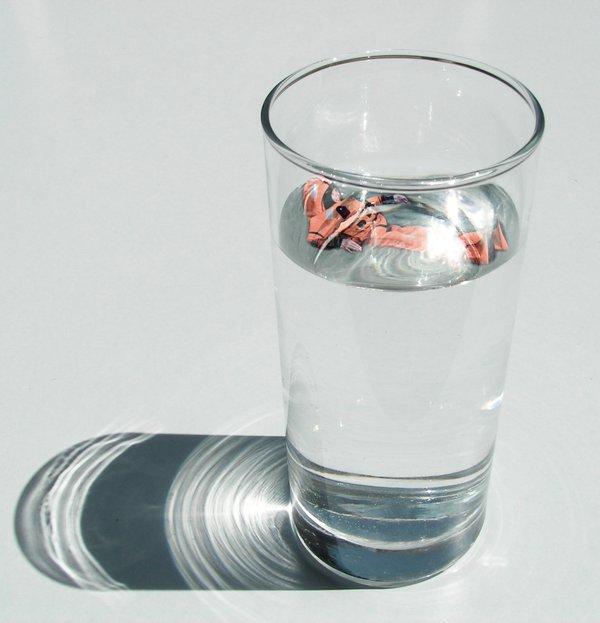 ministre dans verre