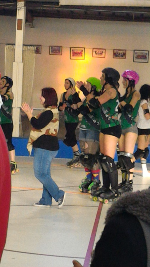 Vive le rollerderby…