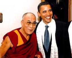 Obama reçoit le dalaï-lama à laMaison-Blanche