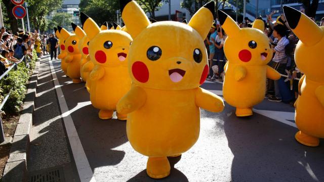 Actuel : Pokémon Go. Un député LR propose de légiférer pour limiter lesrisques