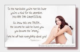 Narcissisistic traits