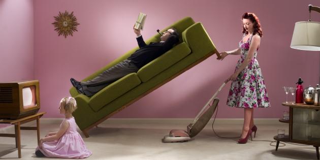 Société : Une maison ordonnée est une maisontriste.