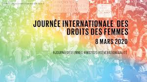 Journée internationale des droits de la femme 8 mars2020