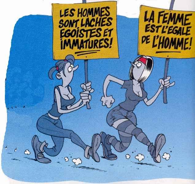 Humour : en hommage aux femmes qui luttent pour leurs droits!
